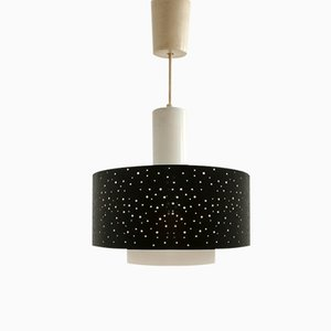 Vintage Starry Night Pendant Lamp by Ernst Igl for Hillebrand