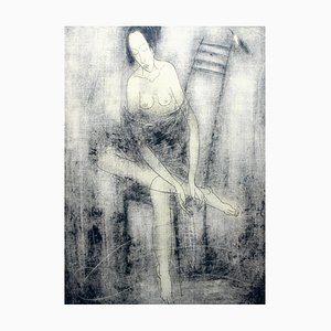 Sergei Timochow, Nude on a Chair, 2002