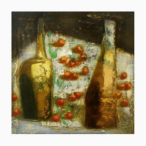 Siergiej Timochow, Still Life with Two Bottles, 2011