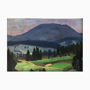Julius Mieszkowski, Landscape, 1954