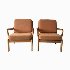 Danish Lounge Chairs by L. Olsen and Son, 1960s, Set of 2