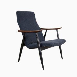 Chaise Longue Vintage Scandinave par Olli Borg pour Asko