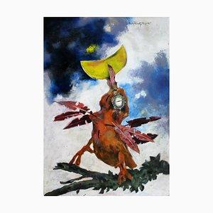 Andrzej Kreutz-Majewski, Bird and a Moon, 2008