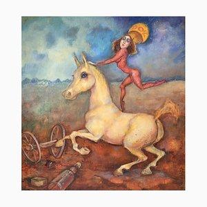 Barbara Dyoniziak-Stuss, Equestrian Voltigieren, 1996