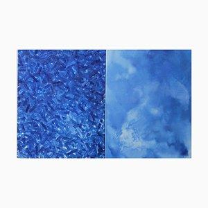 Marta Wegiel, A Diptych About the Blue, 2019