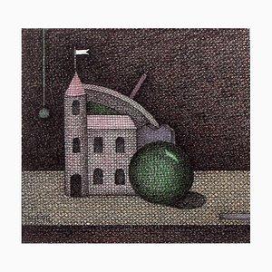 Joanna Wiszniewska Domańska, Still Life with a Fairytale House, 2003
