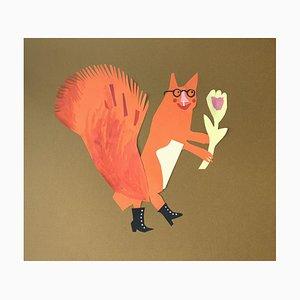 Marianna Oklejak, Ein Eichhörnchen, 2020