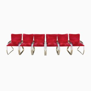 Chairs by Renato Zevi for Selig, Set of 6