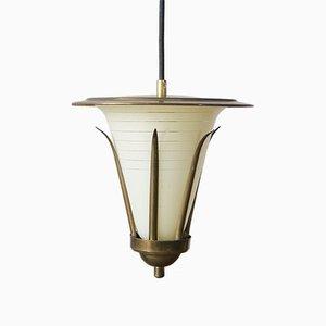 Mid-Century Rockabilly Deckenlampe, 1950er