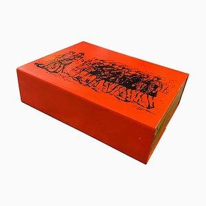 Mid-Century Modern Cigarette Box by Atelier Fornasetti for Piero Fornasetti, 1960s