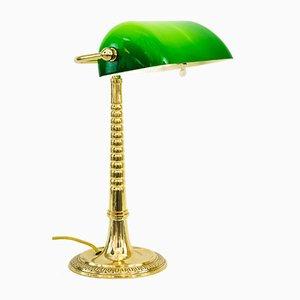Art Deco Banker's Lamp, Vienna, 1920s