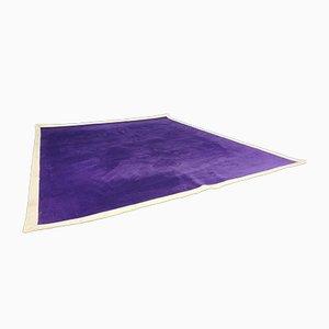 Purple Wool Rug by Louis De Poortere