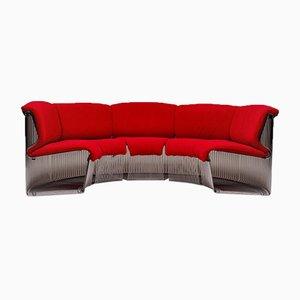Pantonova Modular Sofa System by Verner Panton for Fritz Hansen, 1970s, Set of 11