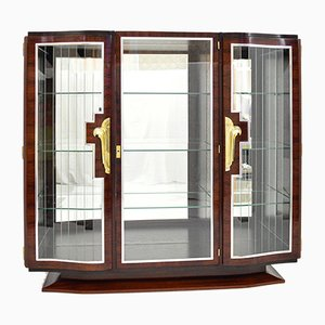 Art Deco Rosewood Display Cabinet, France, 1930s