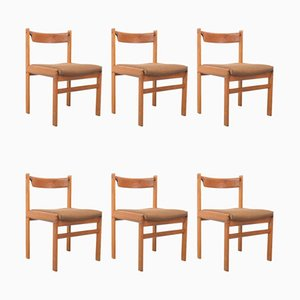Teak Dining Chairs by H. W. Klein for Bramin, Set of 6