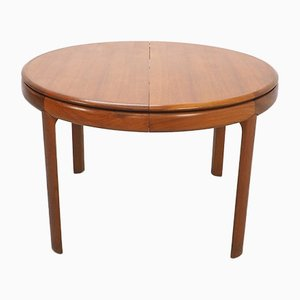 Extendable Teak No. 25 Dining Table by H. W. Klein for Bramin, Set of 2