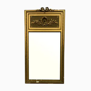 Large Louis XVI Giltwood Pier Mirror, 1910s