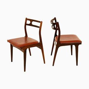 Modell 138 Stühle von Johannes Andersen für Uldum Møbelfabrik, Dänemark, 1960er, 10er Set