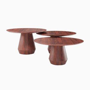 Charlotte Triple Coffee Tables, Set of 3