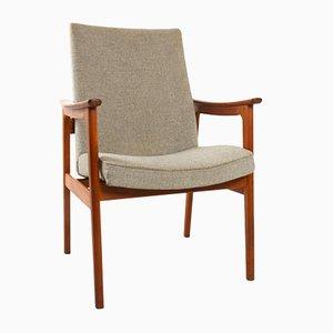 Dänischer Vintage Teak Armlehnstuhl von Erik Kirkegaard für Høng Stolefabrik, 1960er