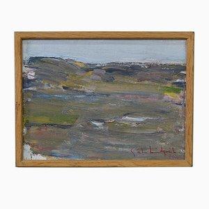 Gosta Lindqvist, Modernes Ölgemälde, 1960er