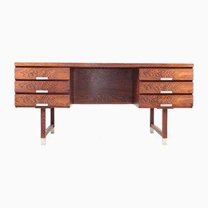 Freistehender Mid-Century Palisander Schreibtisch von Ejgil Petersen, 1960er
