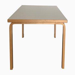 Table Modèle 81B par Alvar Aalto pour Artek, Scandinavie