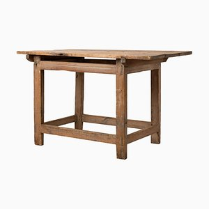 18th-Century Rustic Swedish Country Work Table