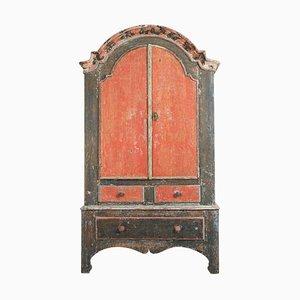 Late 18th Century Northern Swedish Rococo Cabinet