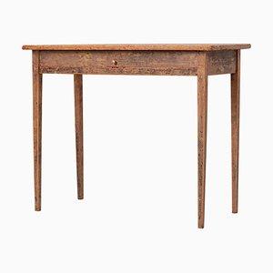 Small Swedish Gustavian Side Table, 19th Century