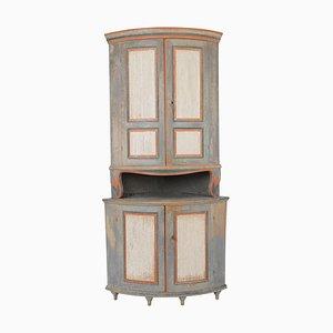 19th Century Swedish Gustavian Corner Cabinet