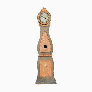 19th Century Swedish Long Case Clock from Nusnäs