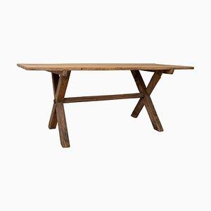 Large 18th Century Swedish Pine Table