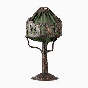 Swedish Copper Lamp