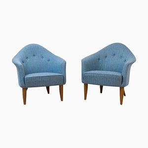 Lilla Adam Lounge Chairs by Kerstin Hörlin-Holmquist From Nordiska Kompaniet, Set of 2