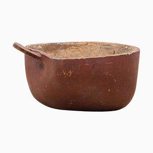 Late 18th Century Large Swedish Wooden Bowl