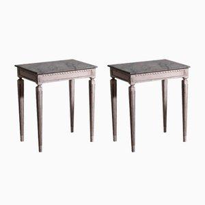 Swedish Side Tables, 20th-Century, Set of 2