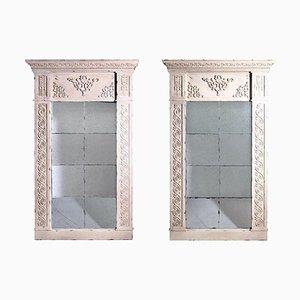Large Gustavian Style Mirrors, 20th-Century, Set of 2