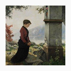 Hubert Salentin, Andacht, Gemälde