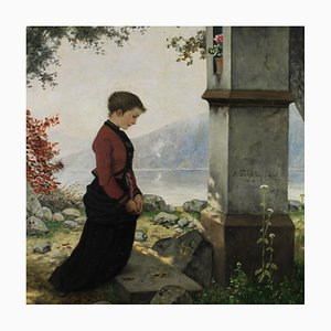 Hubert Salentin, Devotion, Painting