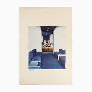 Sergio Barletta, Composition, Collage, 1975