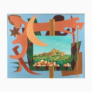 Guida Leo, Landscape with Signals, Italie, 1984