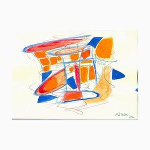 Giorgio Lo Fermo, Mixed Colors Composition, Mixed Media, 2020