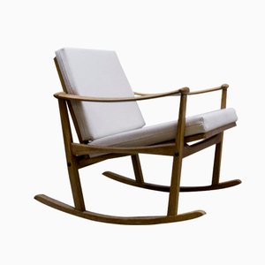 Rocking Chair par Finn Juhl pour Pastoe