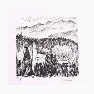Albert Marquet, Mountain, Originale Lithographie, Frühes 20. Jahrhundert