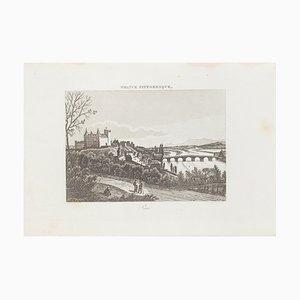 Pau, Original Lithograph, 19th Century
