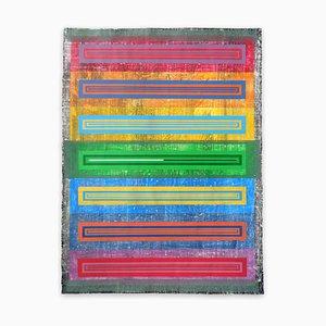Organic Geometry (Spectrum II), Abstract Painting, 2020