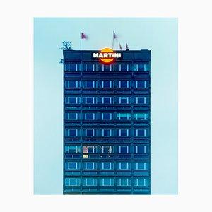 Martini Bleu, Milan, Photographie Couleur Architecturale, 2019