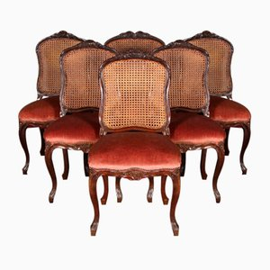 Dining Chairs, 1860s, Set of 6