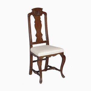 Baroque Oak Chairs, Set of 2